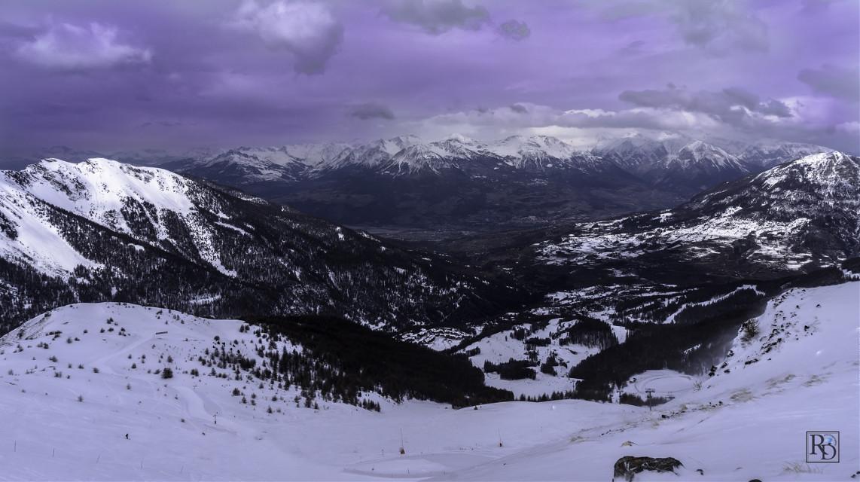 Les Orres #montagne #neige #sommet #sony