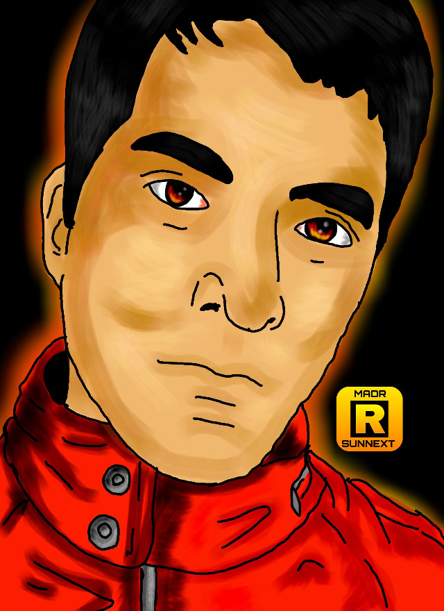 #red  #eyes #art #draw #freetoedit #people