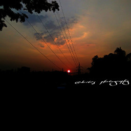 orange sunset emotions photography