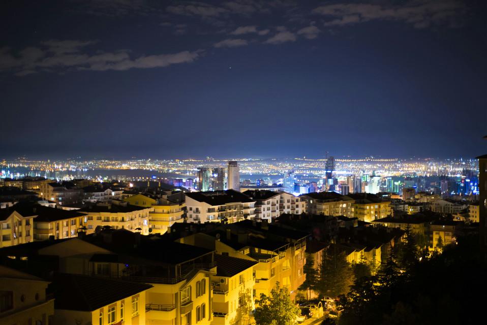 Night lights in Ankara... #photography