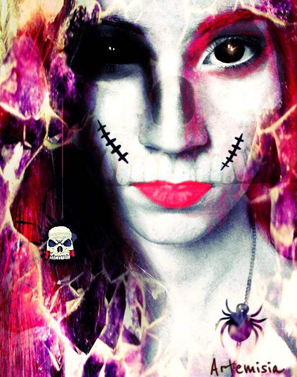 #fteskull #freetoedit #halloween