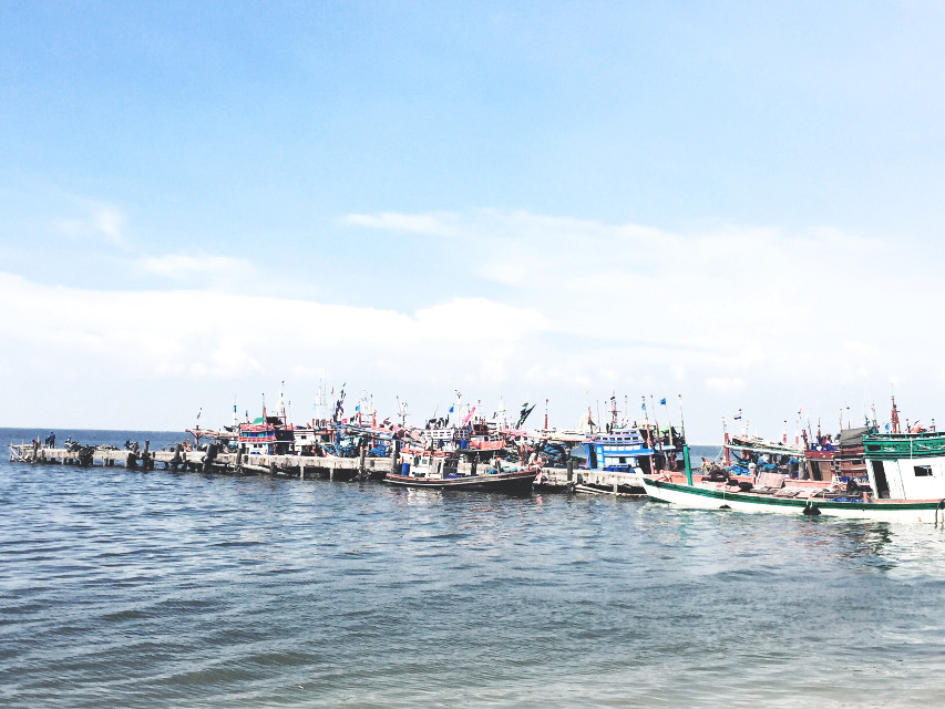 #fishermanboat at Pattaya
