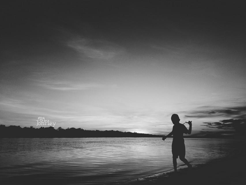 #blackandwhite #people #emotions #photography #beach