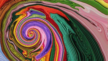 Vaporwave Aesthetic Liquid Shiny Background FreeToEdit