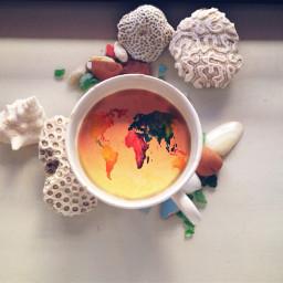 mug world unity coffee closeup