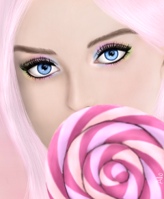 wdpeyes drawing eyes artistic candy