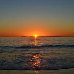 california waves lagunabeach sunset