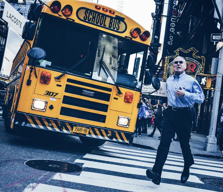 #colorful #grittystreets #streetphotography #manhattan #nyc #street #followme #people #love #fuji #goshoot #working #2015 #fall #street #live #traffic #bus