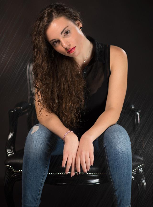 #blackandwhite #photography #Portrait #eyes #woman #flash #studio #Nikon #model