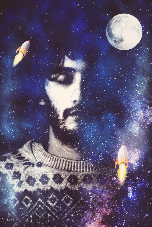 When I was younger I was told the sky's the limit.... well my sky is space... ALWAYS THINK BIG. My edit for  @hrantkhachatryan #freetoedit  #edited  #dream #galactic