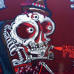 art skull miami wynwoodwalls