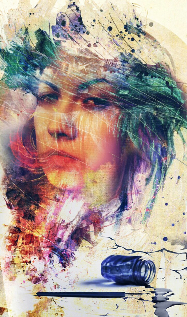 #photography #freetoedit #face #woman #portrait #girl #color  #popart # photoart #