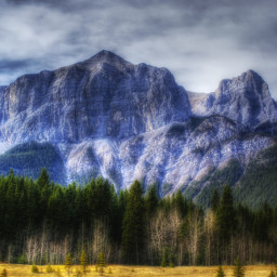photography nature mountains canmore canada