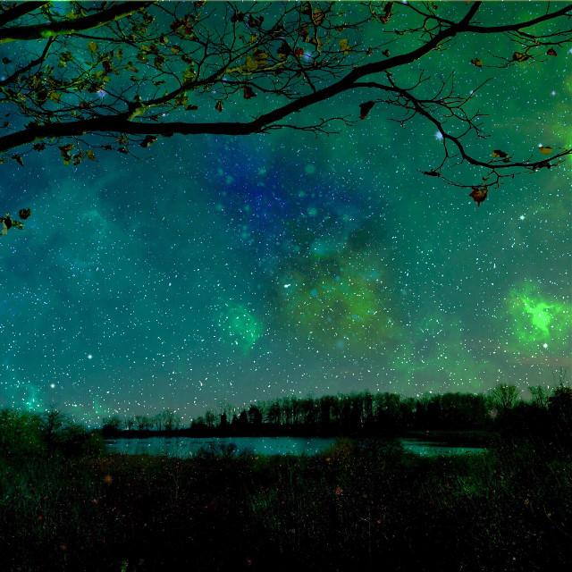 My universe  #wapstarrysky #interesting  #starrysky #sky #star #goodnight