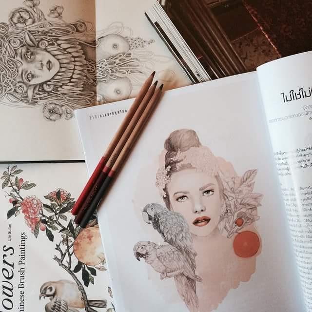 #colorful #colorsplash #flower #art #blackandwhite #book