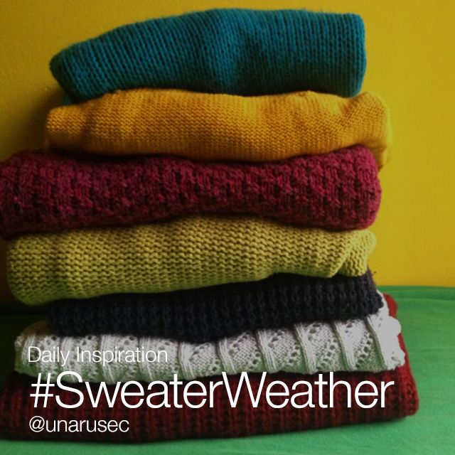 sweater weather photos
