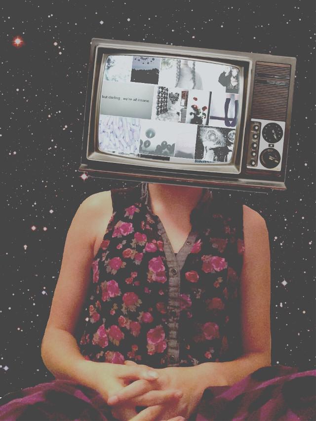 braindead #tv #tvhead #art #interesting #mystery