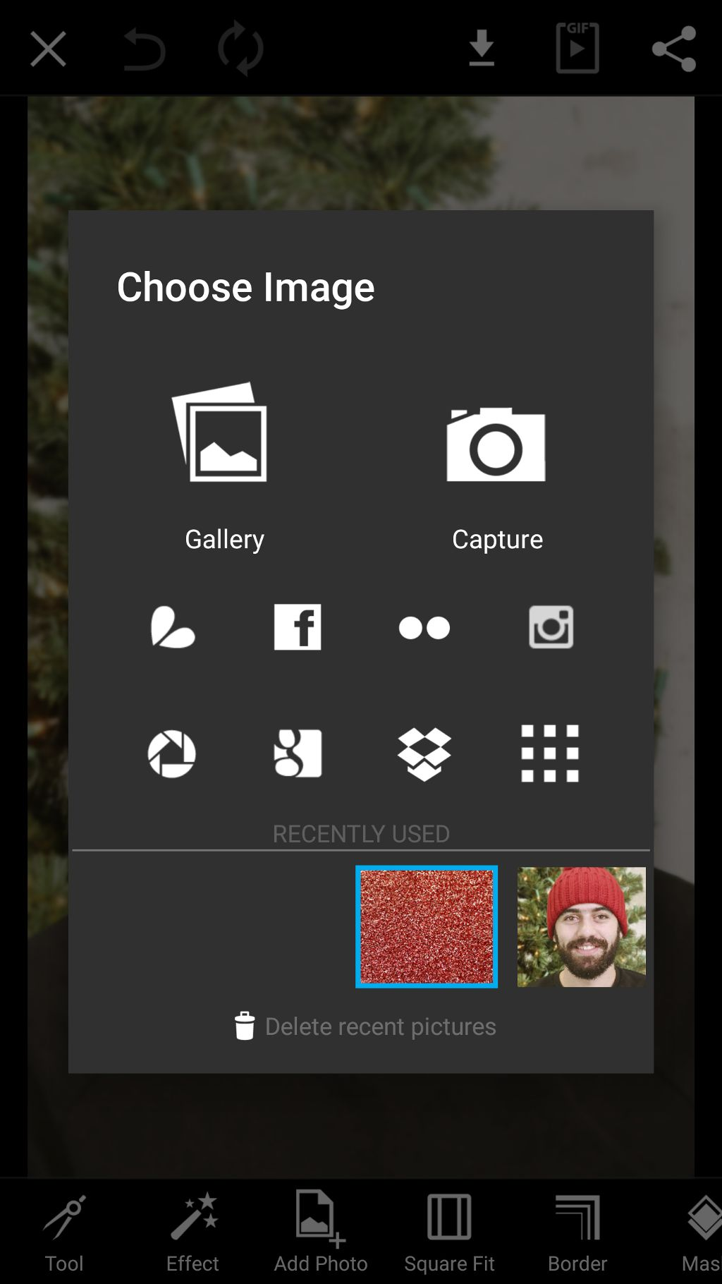 Choose a photo to edit