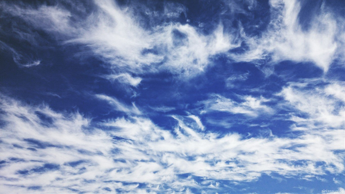 Hello my dear PA FAMILY 💕 Hope you great weekend 💜💜💜   #freetoedit #sky #clouds  #blue #nature #photography