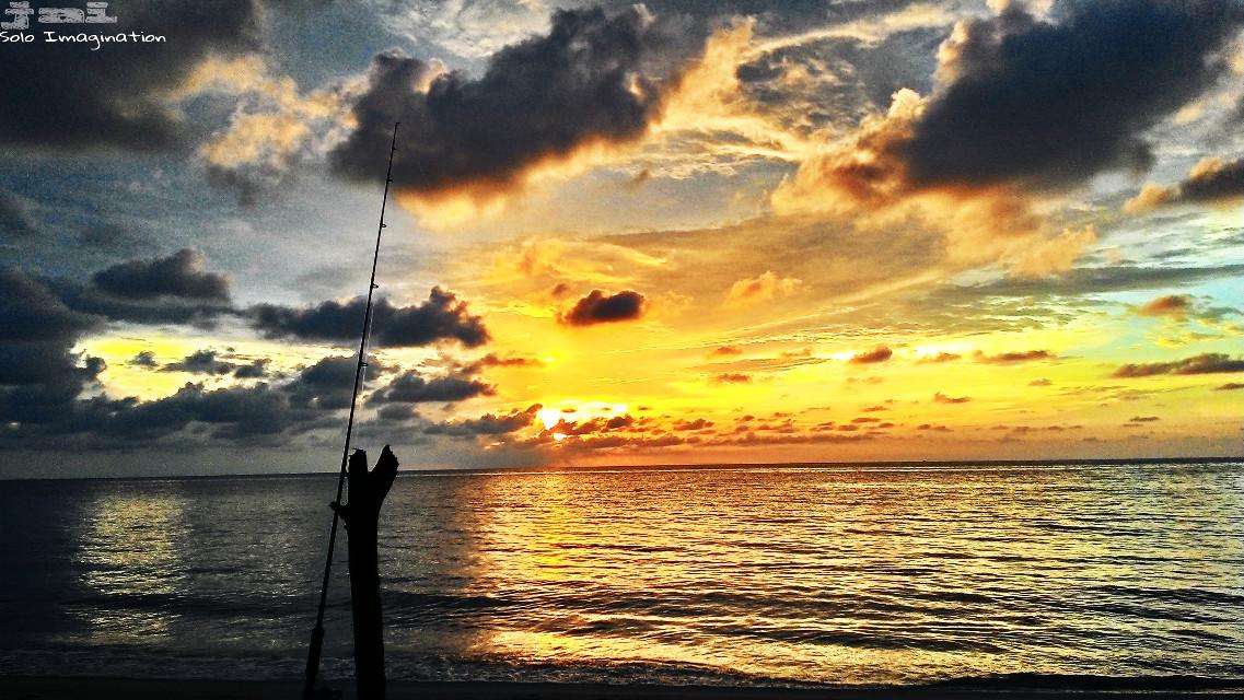 Fishing  #sunset