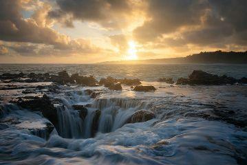 kauai hawaii nature landscape sunrise