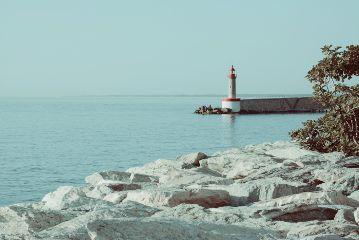corse travel summer sea sunlight