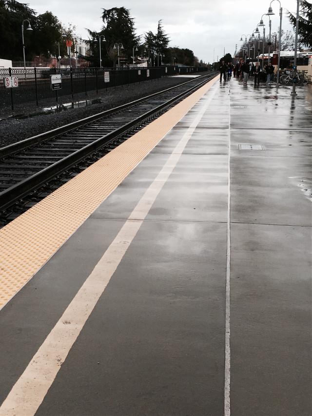 #perspective #train #transportation #travel