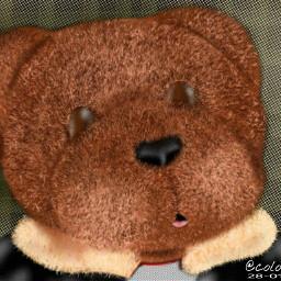 drawing art teddybear colurful digitalart