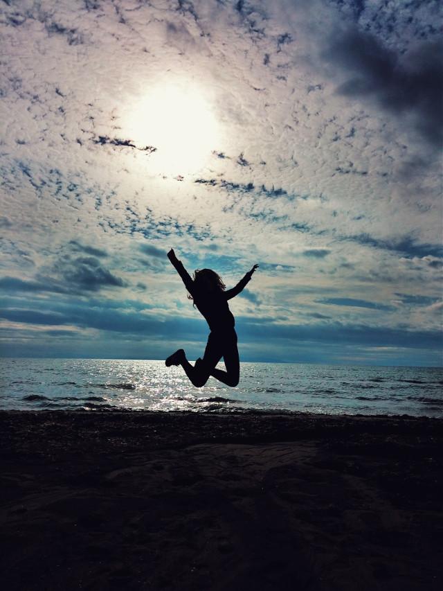 #happy #clouds #freetoedit #beach
