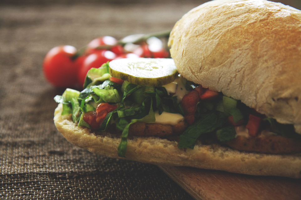 #falafel #sandwich #crumbs #yerevan