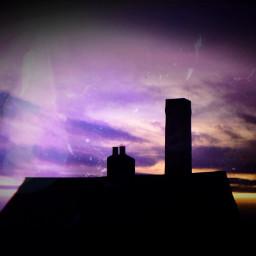 colourfulsky editedbyme silhouette skyporn myphotography