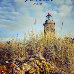 lighthouse sweden falsterbo nature winter