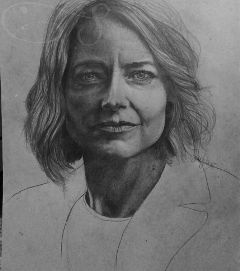 drawing portrait blackandwhite breath pencil