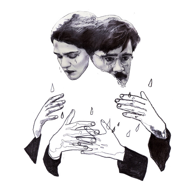 #illust #illustration #movie #colinfarrell  #rachelweisz #pencil #conte #draw #sketch #drawing #artwork #thelobster