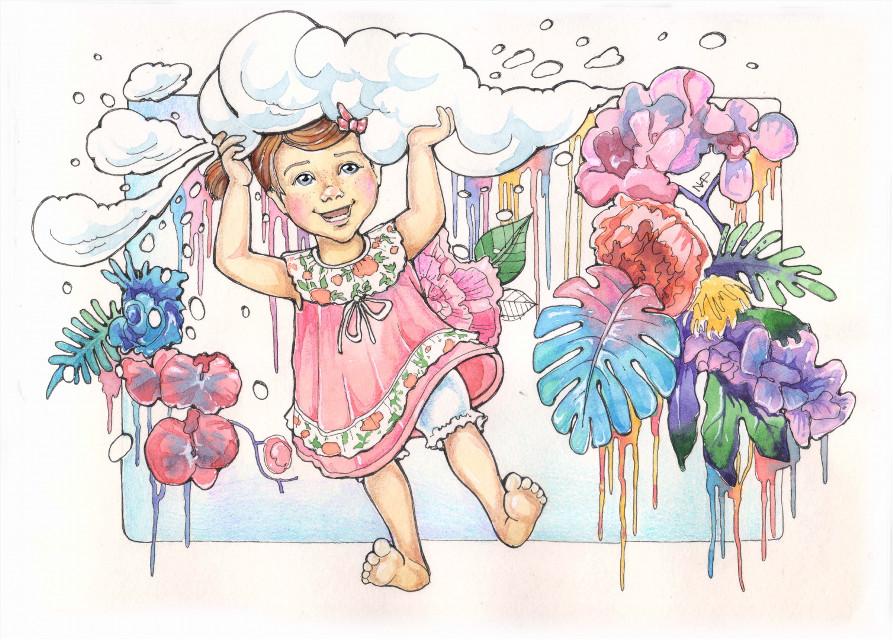 March #drawing #sketch #watercolors #ink #calendar #marishroom_calendar2017