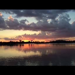 nature sunset landscape lake photography