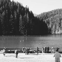 blackandwhite freetoedit oldphoto photography travel edited vintage people mountains romania redlake