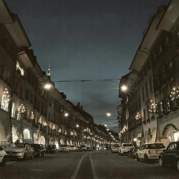 travel photography winter nightshot city