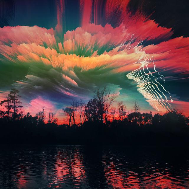 Electric nights ⚡️ #createdoniphone #fantasy #art