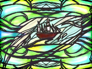 wdpstainedglass boat