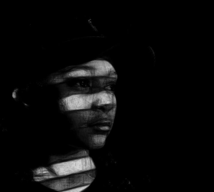 #Girl #BlackandWhite #interesting #beautiful