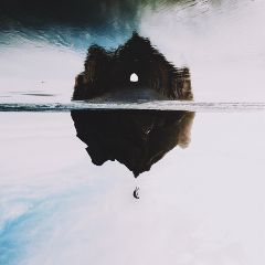 surreal illusions floating falling doubleexposure
