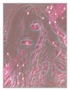 drawtools artisticportrait effects bokeh pink