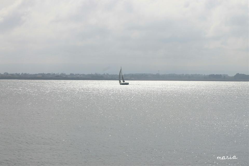The sea #photography #interesting #sea #sky #landscape #citylife #boat #minimal #myinspiration #freetoedit #silversea