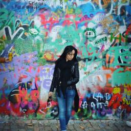 graffiti wallart girl fashion cool