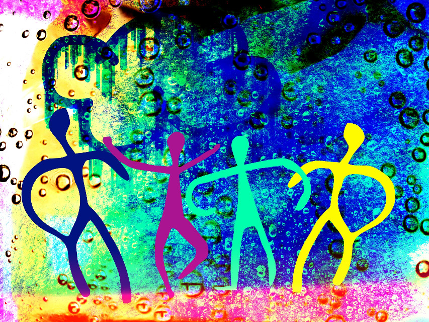 #FreeToEdit #clipart #draw #colorful #cavedrawings