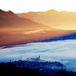 alba mountain beautiful
