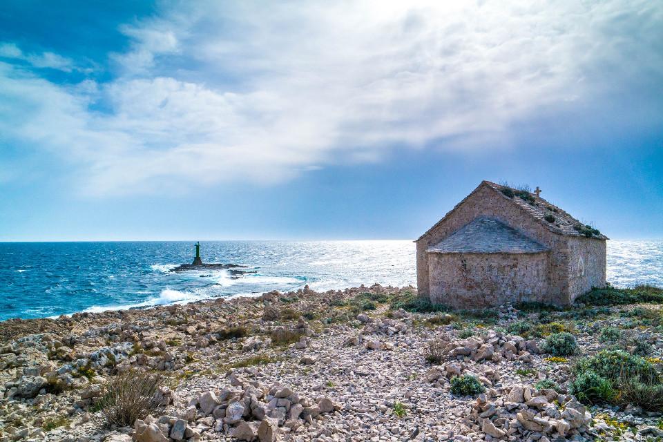 #lighthouse  #chapel  #sea  #waves  #clouds  #sky