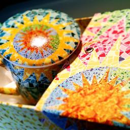 mug cup espana espagne porcelain