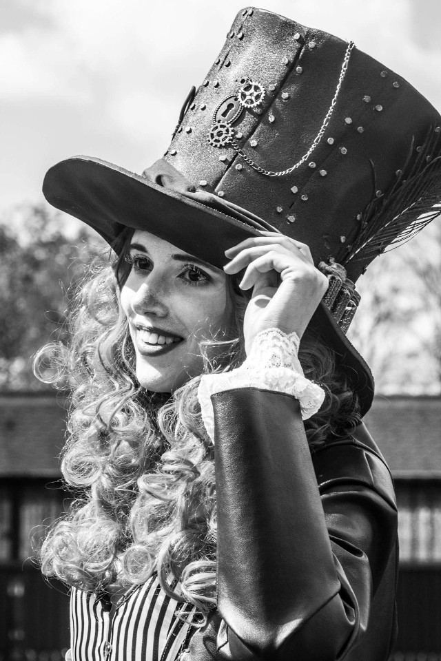 At the Fantasy Fair @Haarzuilen #blackandwhite #photography #people  #fantasy